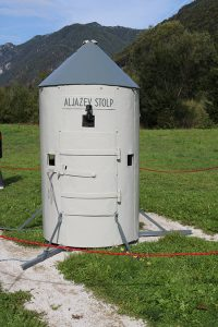 Picture 2: Final look of the Aljaž Turret.